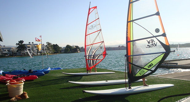 Windsurfing Lessons at California Windsurfing in Foster City, CA 94404